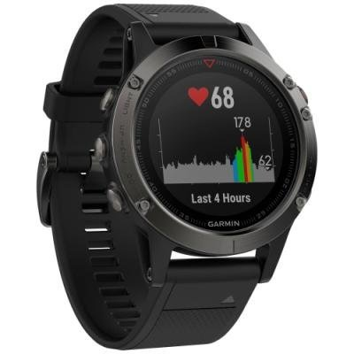 Sportovní hodinky Garmin fenix5 šedo - černé