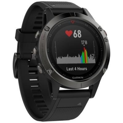 Sportovní hodinky Garmin fenix5 Sapphire černé