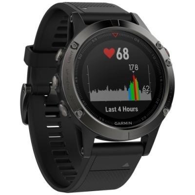 Sportovní hodinky Garmin fenix5 TRI šedo - černé