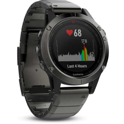 Sportovní hodinky Garmin fenix5X Sapphire černé