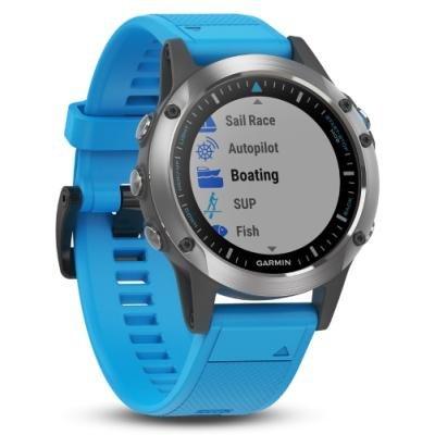 Jachtařské hodinky Garmin Quatix5 Optic modré
