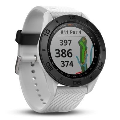 Golfové hodinky Garmin Approach S60 Lifetime bílé