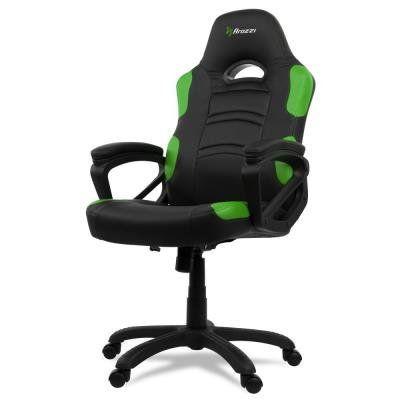 POŠKOZENÝ OBAL - AROZZI herní židle ENZO/ černozelená