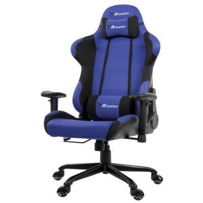 Herní židle Arozzi TORRETTA XL černo-modrá
