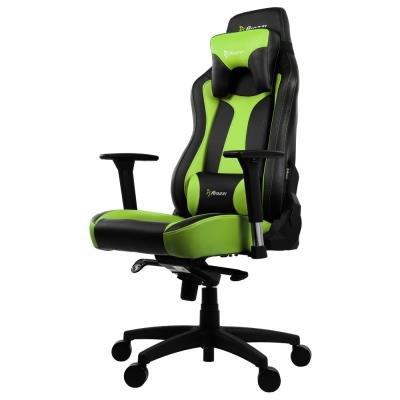 Herní židle Arozzi VERNAZZA černo-zelená
