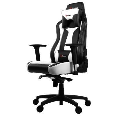 Herní židle Arozzi VERNAZZA černo-bílá