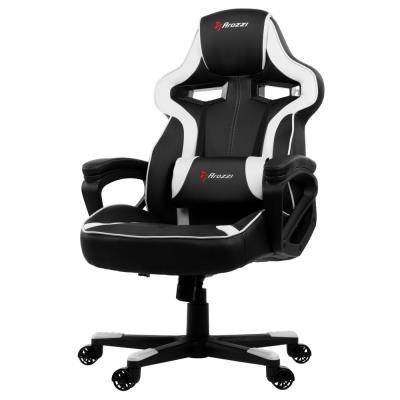 Herní židle Arozzi MILANO černo-bílá