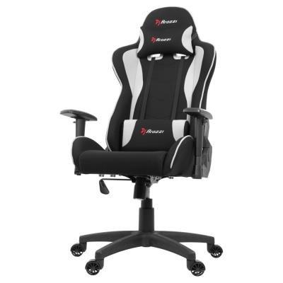 Herní židle Arozzi MEZZO V2 Fabric černo-bílá