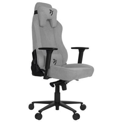 Herní židle Arozzi VERNAZZA Soft Fabric šedá