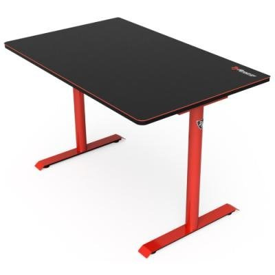 Herní stůl Arozzi Arena Leggero černo-červený
