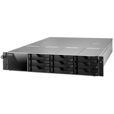Asustor AS-609RS, 9-bay NAS server/ media station/ Dual Core Atom 2,13GHz/ 1GB DDR3/ 2xUSB 3.0/ 4xUSB 2.0/ HDMI/ rack