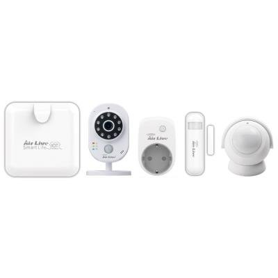 AirLive SmartLife SuperKit Plus (gateway, multisenzor, PIR, SmartPlug, 3MP kamera), Z-wave