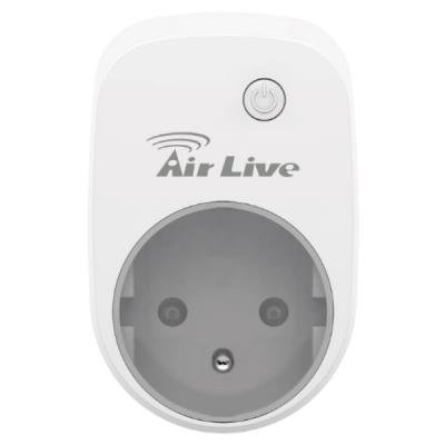 AirLive SmartLife česká chytrá zásuvka s měřením energie, Z-wave