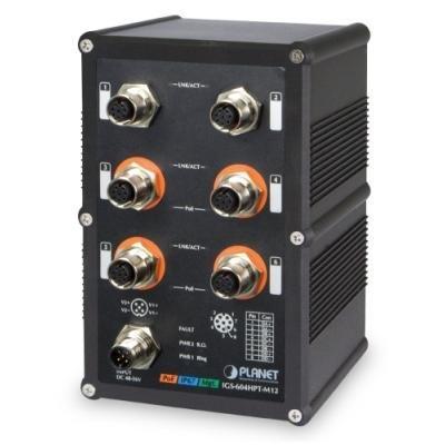 Switch PLANET IGS-604HPT-M12