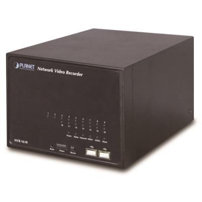 ROZBALENÉ - NVR-1610, 16-kanálový síťový IP video rekordér, 1x LAN, 2xHDD, CZ UI - výprodej