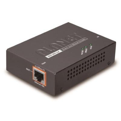 Planet PoE/LAN extender, 1xPoE-in, 1xPoE-out 13W, 802.3af, 100Mb