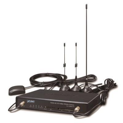 Planet VCG-1500WG-LTE mobilní brána, 5x LAN, LTE, WiFi, GPS, VPN router, IP30