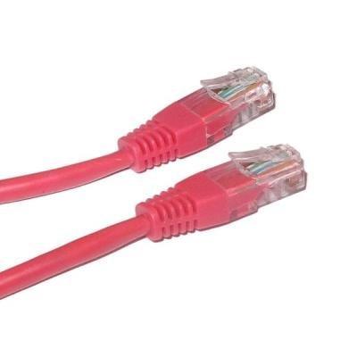 Patch kabel XtendLan Cat 6 UTP 1m červený