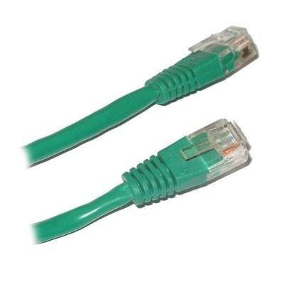 Patch kabel XtendLan UTP cat.5e 20m zelený