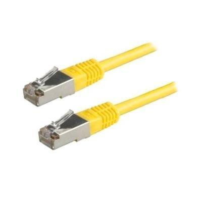 XtendLan Cat 5e FTP 1,5m žlutý