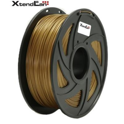 XtendLan filament PLA zlatý