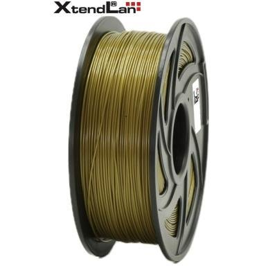 XtendLan filament PLA bronzové barvy