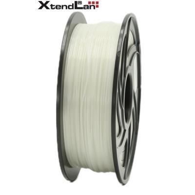 XtendLan filament PLA průhledný bílý/natural