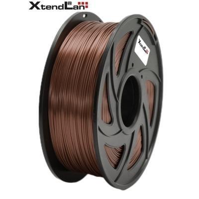 XtendLan filament PLA lesklý měděné barvy