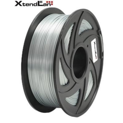 XtendLan filament PLA lesklý stříbrný