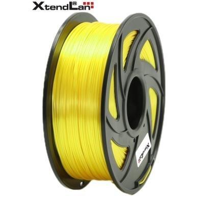 XtendLan filament PLA lesklý žlutý