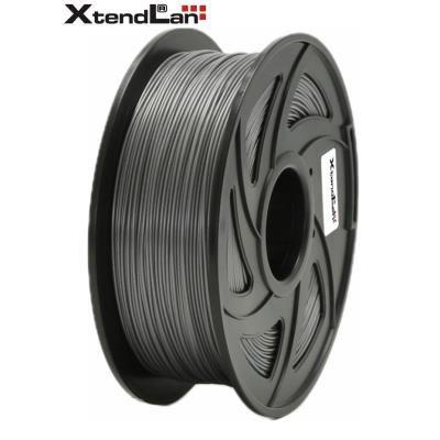 XtendLan filament PETG šedý