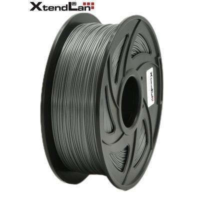 XtendLan filament PETG stříbrný