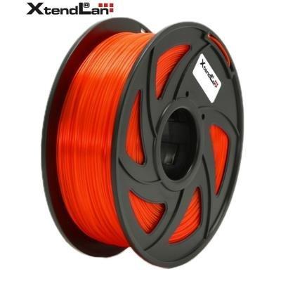 XtendLan filament PETG průhledný oranžový