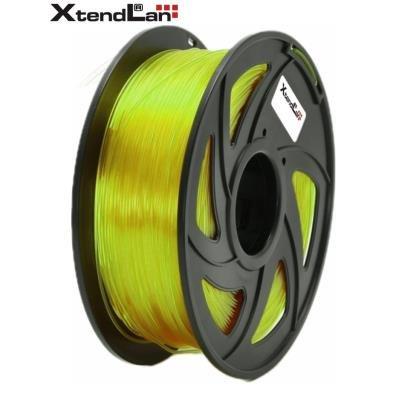 XtendLan filament PETG průhledný žlutý