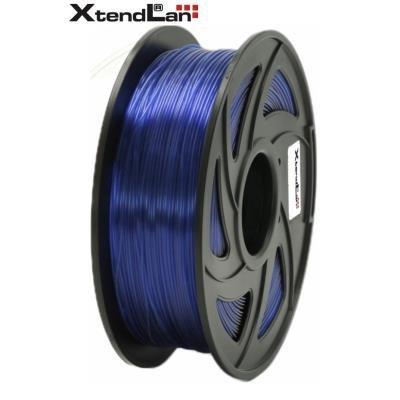 XtendLan filament PETG průhledný modrý