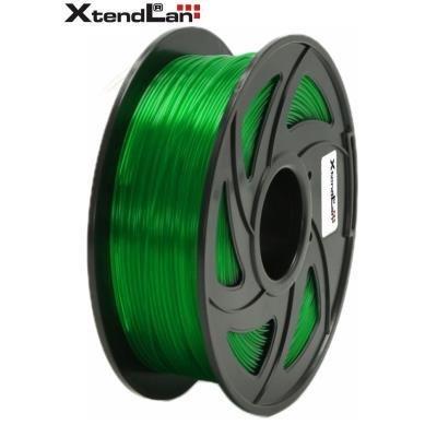 XtendLan filament PETG průhledný zelený