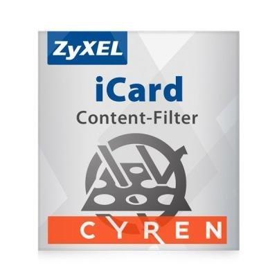 Licence ZyXEL E-iCard Cyren Content 1 rok