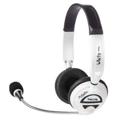 Headset NGS MSX6 PRO bílý