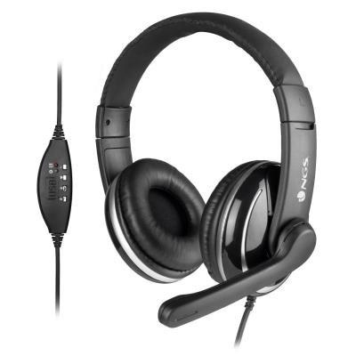 Headset NGS VOX800 USB černý