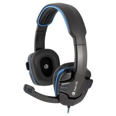 Headset NGS GHX-505 černo-modrý