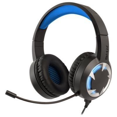 Náhlavní drátová sluchátka