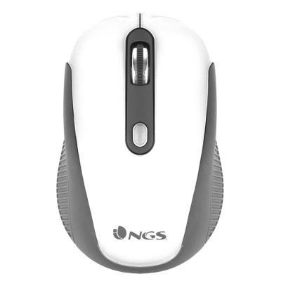 NGS myš HAZE/ Bezdrátová/ Bílá/ USB