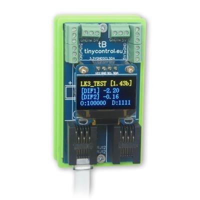 Rozšiřující modul Tinycontrol pro LAN ovladač v3