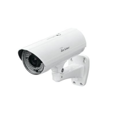 OPRAVENÉ - AirLive BU-3028/ IP kamera/ venkovní/ H.264/ 3MPix/ 25M IR / smart focus motor zoom 3-10,5mm/ 802.3af/at  POE
