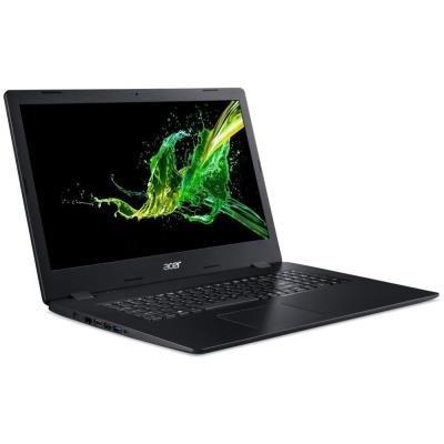 """Acer Aspire 3 (A317-51-54DK) i5-10210U / 4GB+4GB / 512GB SSD / DVDRW / UHD Graphics / 17,3"""" FHD IPS LED/ W10 Pro / černý"""