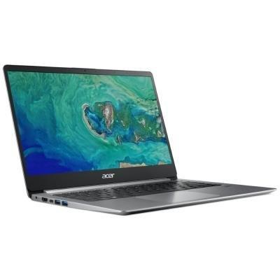 """Acer Swift 1 (SF114-32-P4UP) N5000 / 4GB / 128GB / 14"""" FHD IPS LED LCD / UHD 605/W10S / stříbrný"""