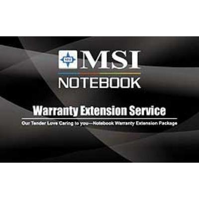Rozšíření záruky MSI NB Warranty 3 roky