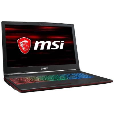 MSI Herní notebook  GP63 8RE-499/ i7-8750H/ DDR4 8GB/ 1TB HDD/ 15,6 FHD/ GTX1060 6GB/ Win10H/ černý