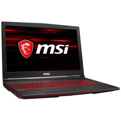 MSI Herní notebook GL63 8RC-256/ i5-8300H/ DDR4 8GB/ 1TB HDD/ 15,6 FHD/ GTX1050 4GB/ Win10H/ černý