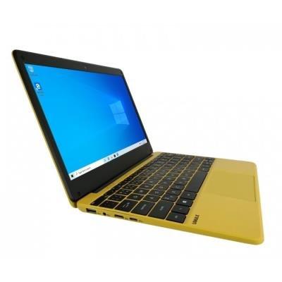 """UMAX notebook VisionBook 12Wa/ 11,6"""" IPS/ 1920x1080/ N3350/ 4GB/ 64GB Flash/ mini HDMI/ 2x USB/ USB-C/ W10 Pro/ žlutý"""
